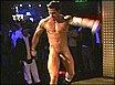 sexy stripper having fun on stage
